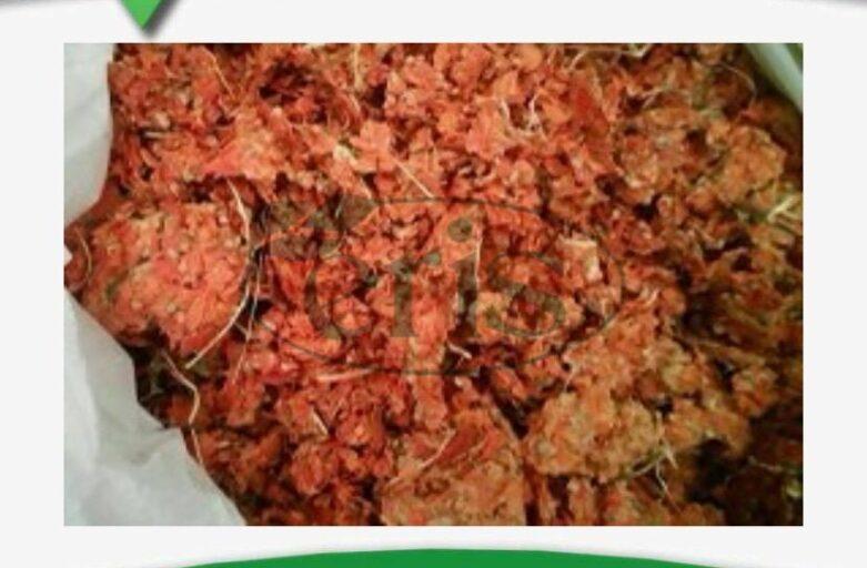 واردات تفاله گوجه در خوراک دام و طیور
